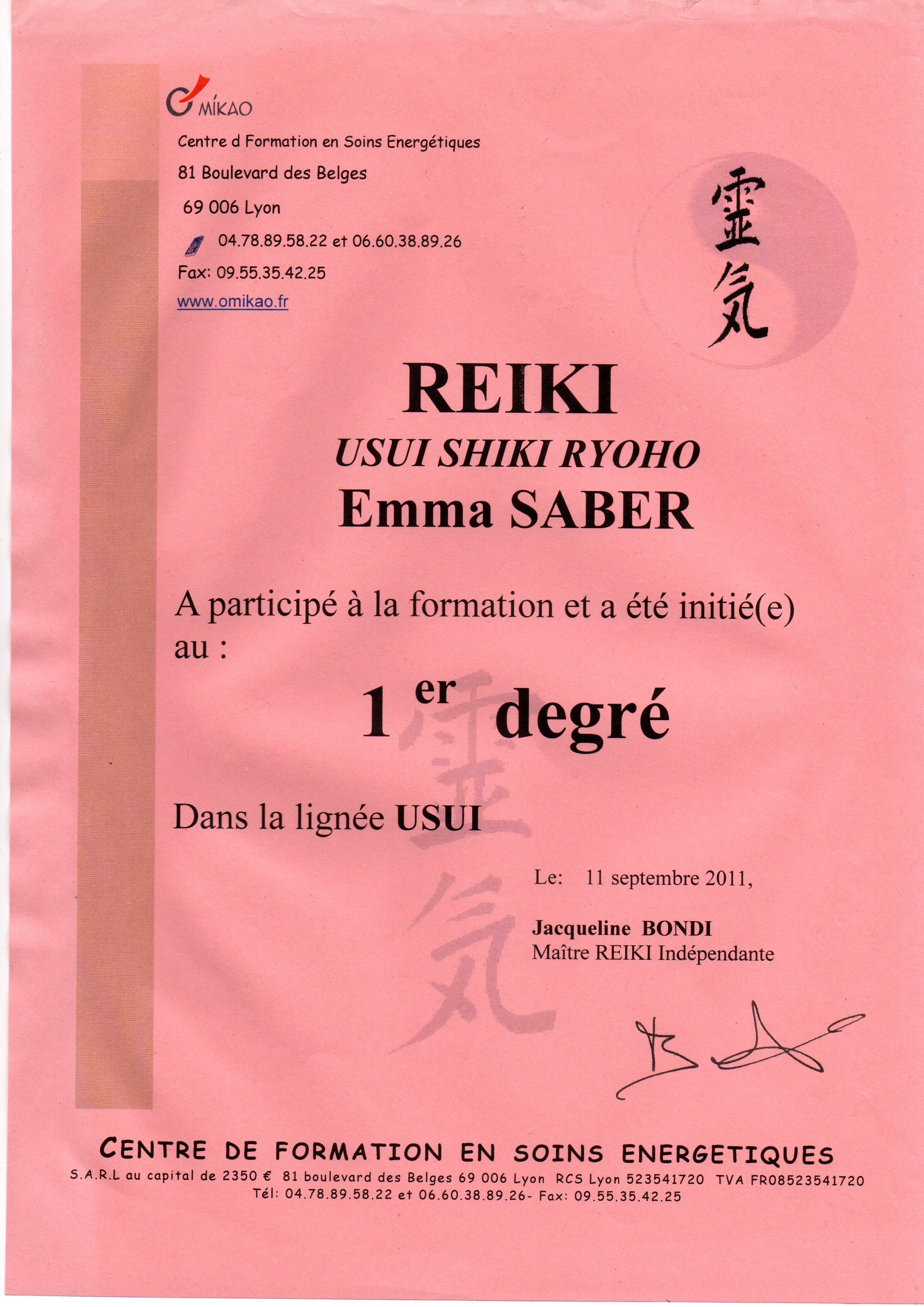 certificat-reiki-premier-degre
